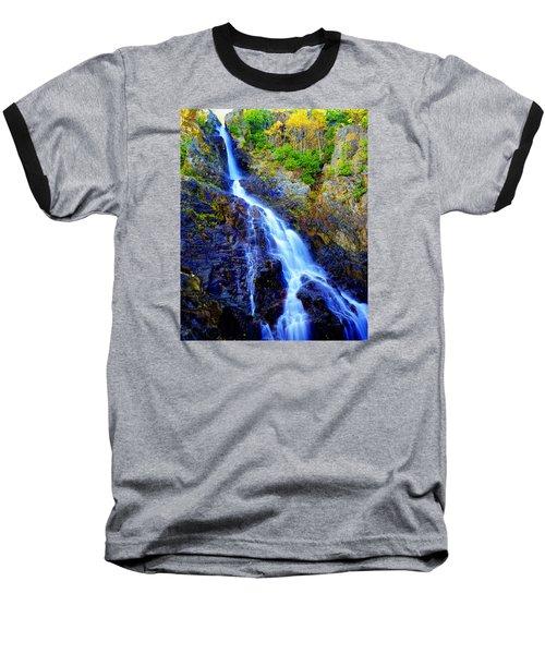 Roaring Brook Falls Baseball T-Shirt