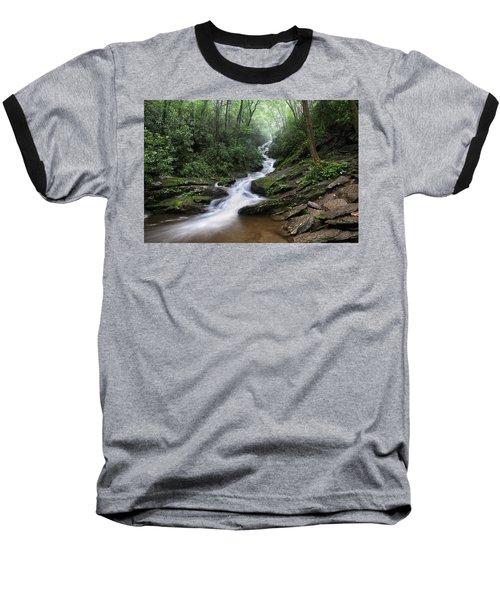 Roaring Fork Falls Baseball T-Shirt