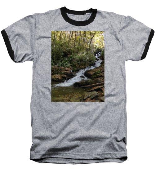 Baseball T-Shirt featuring the photograph Roaring Fork Falls - October 2015 by Joel Deutsch