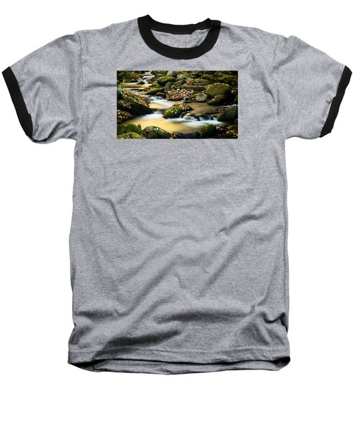 Baseball T-Shirt featuring the photograph Roaring Fork River by Monte Stevens