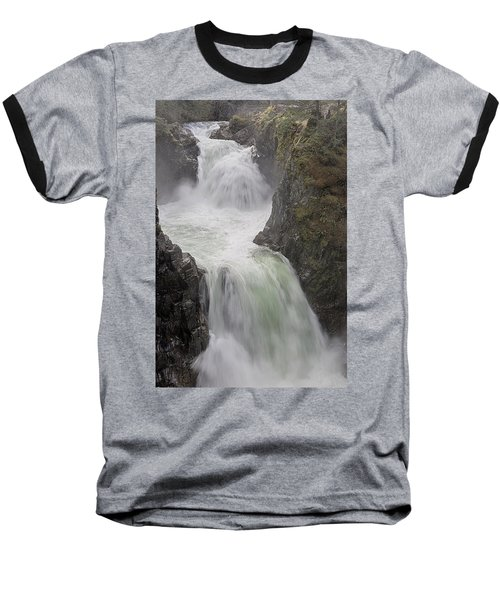 Baseball T-Shirt featuring the photograph Roaring River by Randy Hall