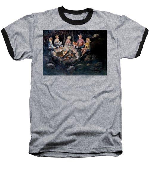 Roasting Marshmallows Baseball T-Shirt