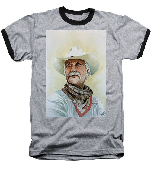 Robert Duvall As Augustus Mccrae In Lonesome Dove Baseball T-Shirt