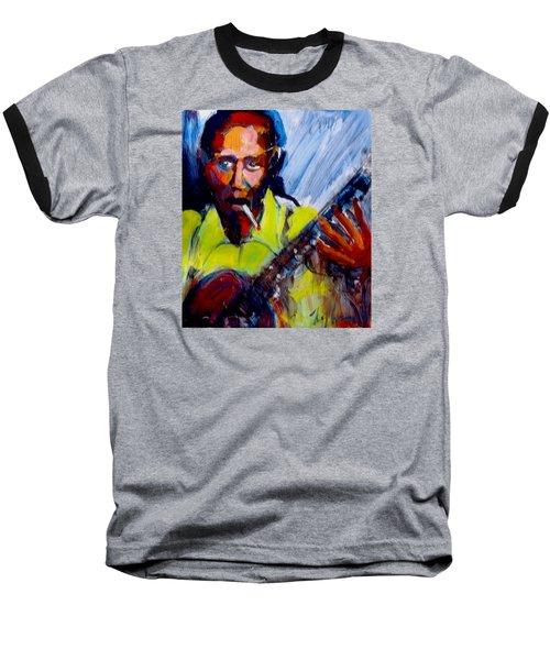 Robert Johnson Baseball T-Shirt by Les Leffingwell
