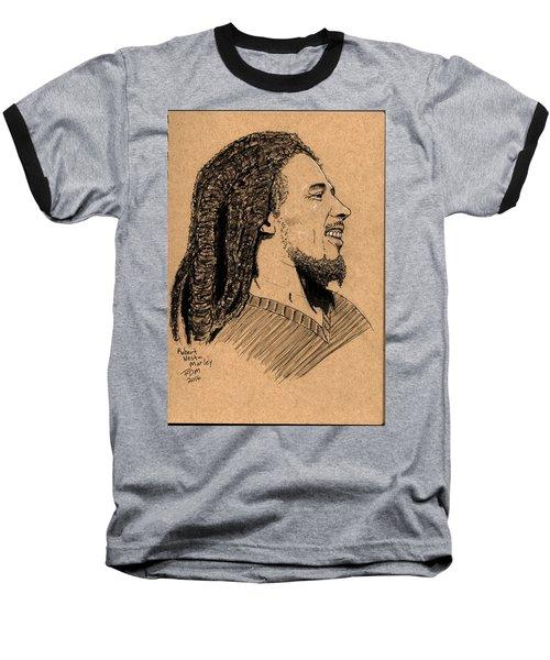 Robert Nesta Marley Baseball T-Shirt