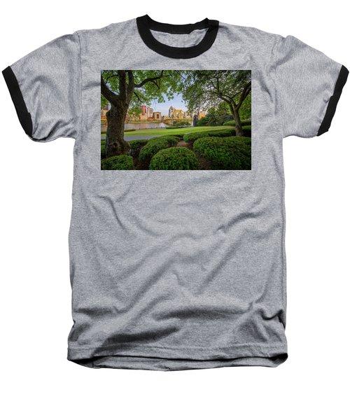 Roberto Clemente Bridge Baseball T-Shirt by Emmanuel Panagiotakis