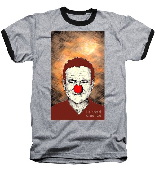 Robin Williams 2 Baseball T-Shirt