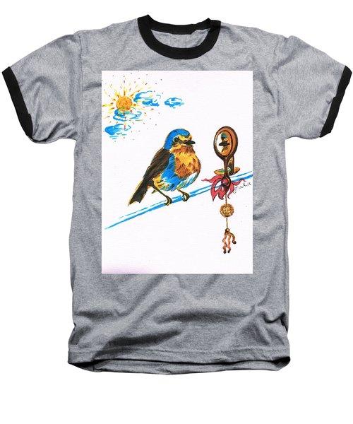 Robins Day Tasks Baseball T-Shirt