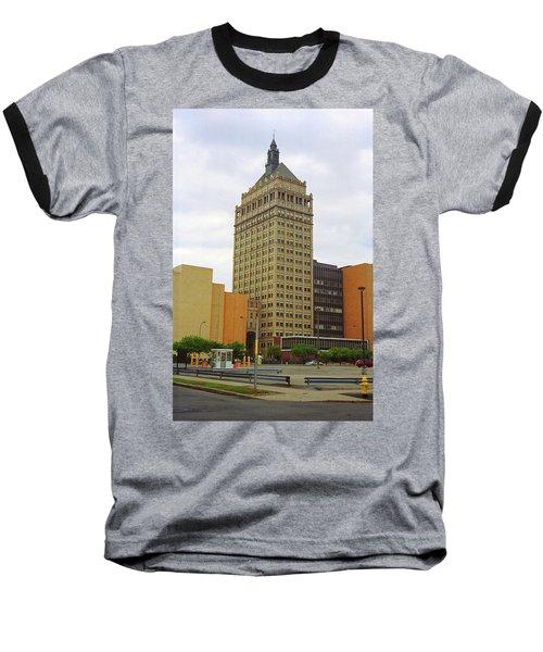 Rochester, Ny - Kodak Building 2005 Baseball T-Shirt by Frank Romeo