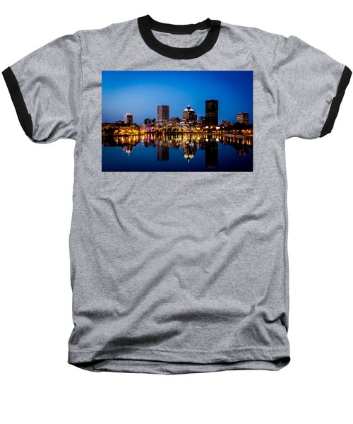 Rochester Reflections Baseball T-Shirt by Sara Frank