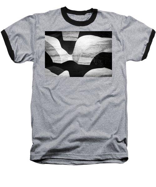 Rock And Shadow Baseball T-Shirt