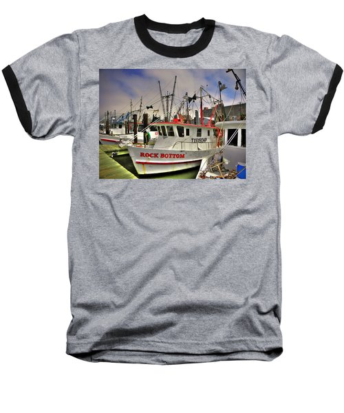 Baseball T-Shirt featuring the photograph Rock Bottom by Savannah Gibbs