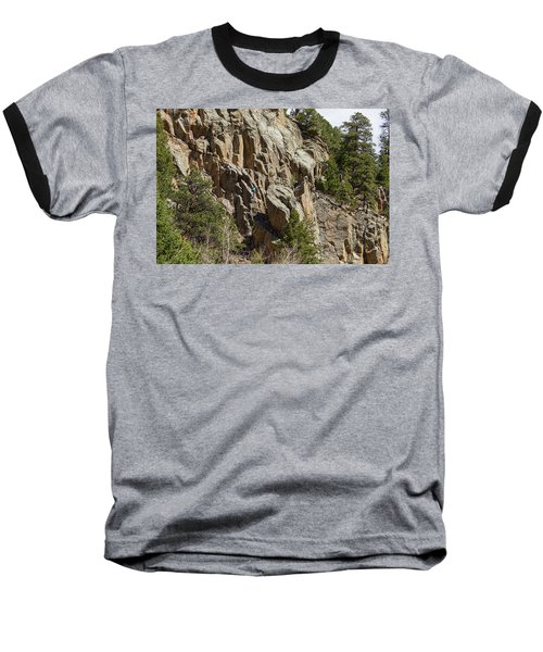 Baseball T-Shirt featuring the photograph Rock Climbers Paradise by James BO Insogna