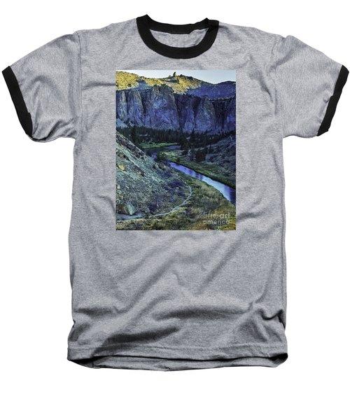 Baseball T-Shirt featuring the photograph Rock Climbing Mecca by Nancy Marie Ricketts