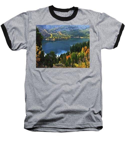 Rock Creek Lake In Fall Baseball T-Shirt