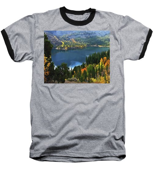 Rock Creek Lake In Fall Baseball T-Shirt