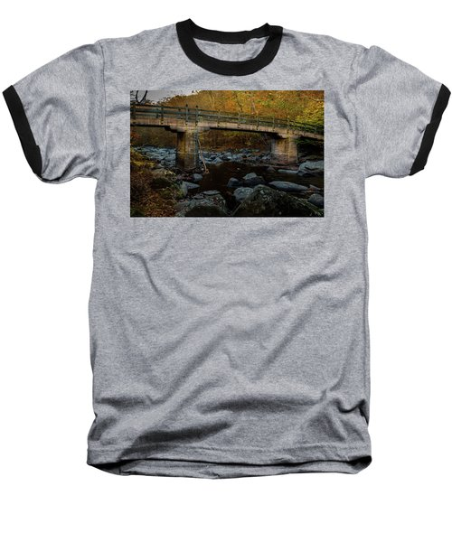 Rock Creek Park Bridge Baseball T-Shirt