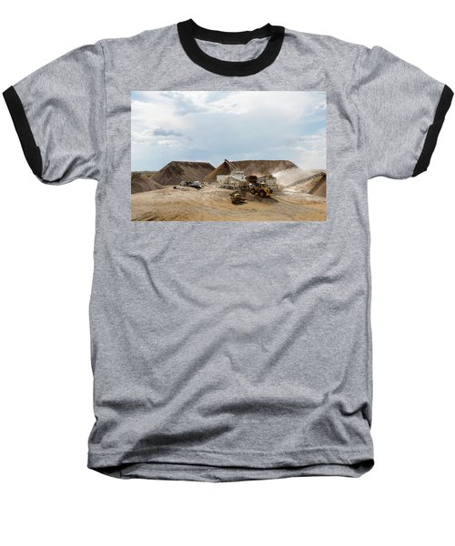 Rock Crushing Baseball T-Shirt
