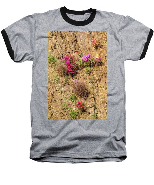 Rock Cutting 1 Baseball T-Shirt