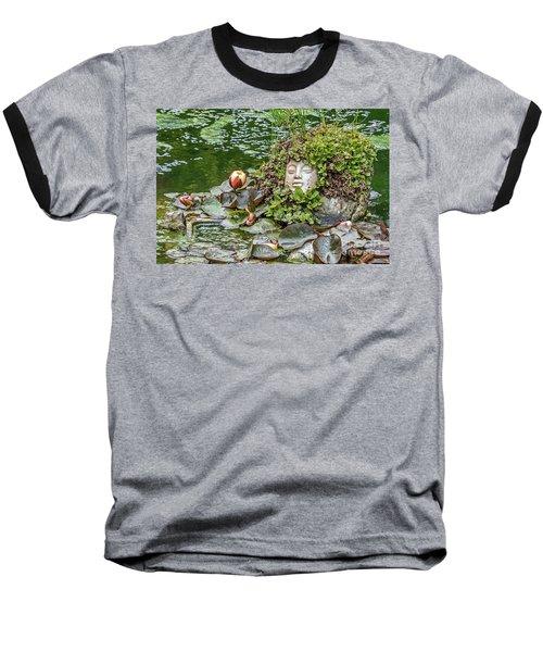 Rock Face Revisited Baseball T-Shirt