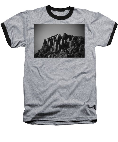 Baseball T-Shirt featuring the photograph Monument To Glacier by Yulia Kazansky