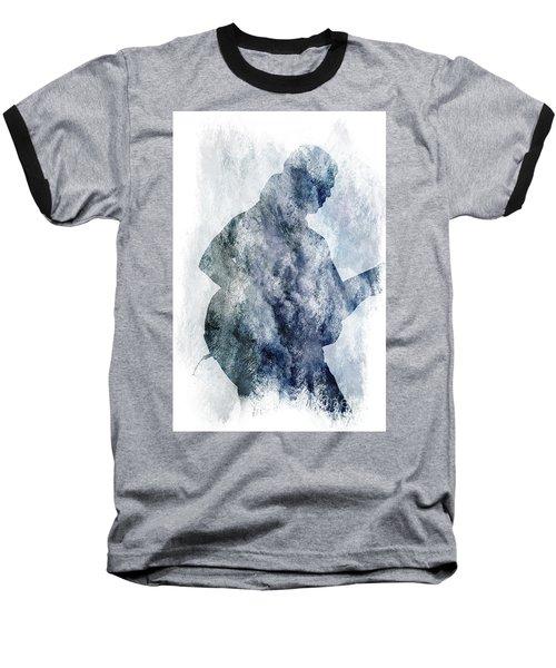 Rock Guitarist Baseball T-Shirt