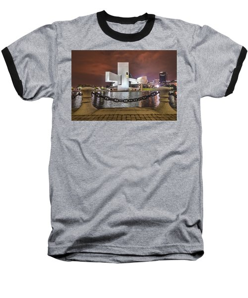 Rock Hall And The North Coast Baseball T-Shirt
