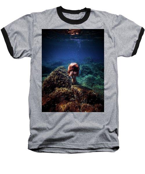 Rock Mermaid Baseball T-Shirt