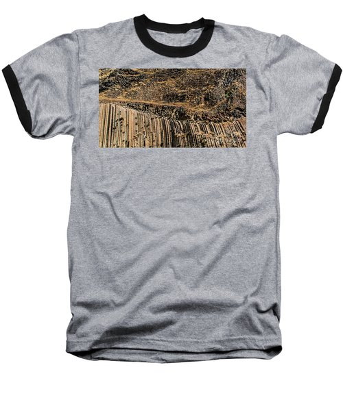 Rock Mountain Rock Art By Kaylyn Franks Baseball T-Shirt