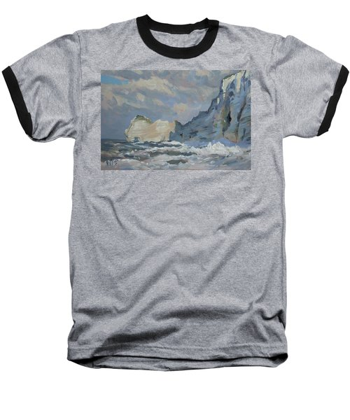 Rock Of Amont Etretat Baseball T-Shirt