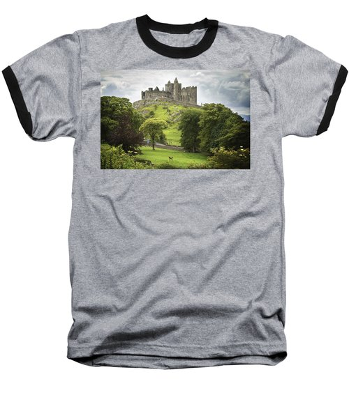 Rock Of Cashel Cashel County Tipperary Baseball T-Shirt by Patrick Swan