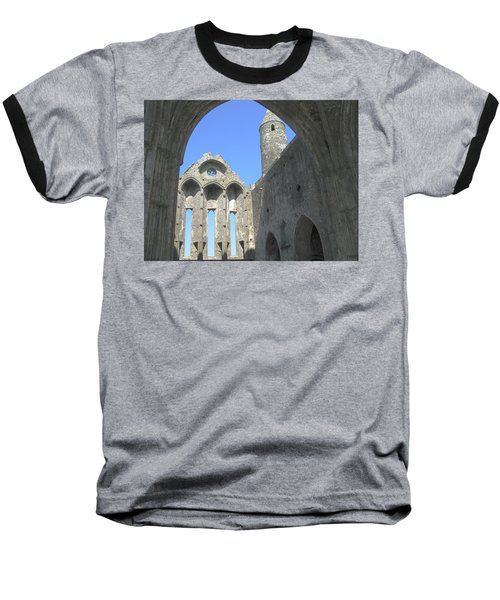 Rock Of Cashel Baseball T-Shirt