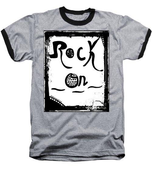 Rock On Baseball T-Shirt