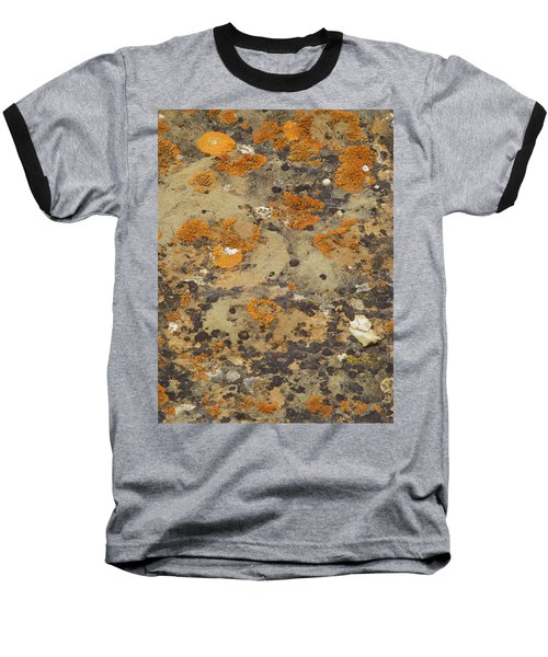 Rock Pattern Baseball T-Shirt
