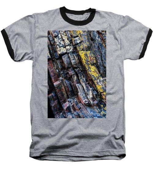 Baseball T-Shirt featuring the photograph Rock Pattern Sc02 by Werner Padarin