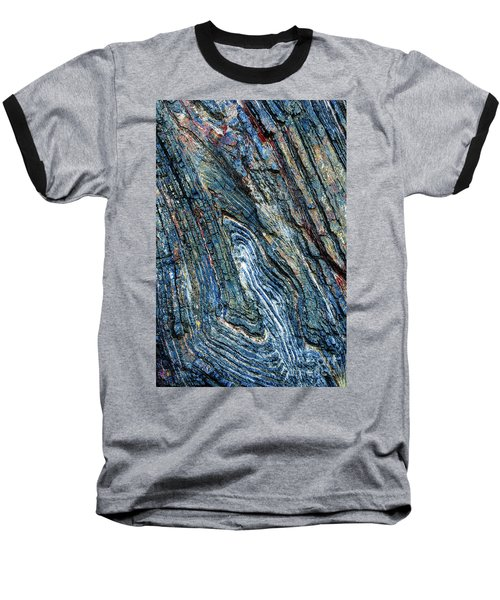 Baseball T-Shirt featuring the photograph Rock Pattern Sc03 by Werner Padarin