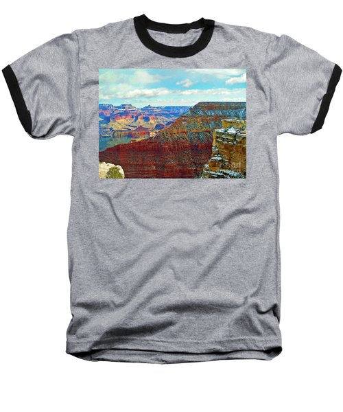 Baseball T-Shirt featuring the photograph Rock Solid by Roberta Byram
