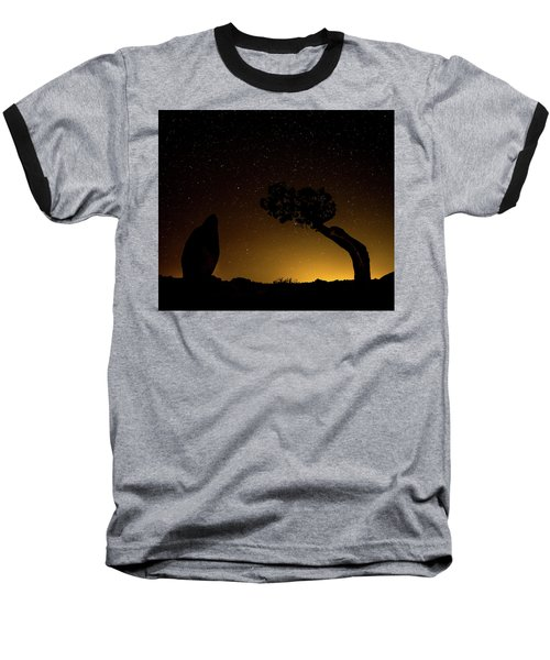 Rock, Tree, Friends Baseball T-Shirt