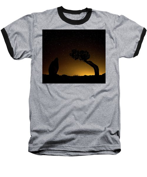 Rock, Tree, Friends Baseball T-Shirt