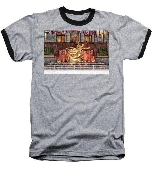 Rockefeller Center Baseball T-Shirt