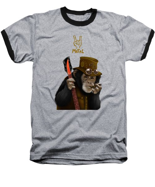Rockers Of The Apes Baseball T-Shirt