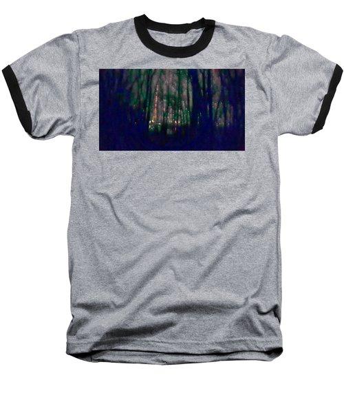 Rockets In The Night Baseball T-Shirt