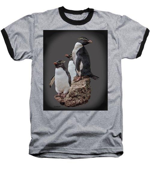 Rockhopper Penguins Baseball T-Shirt