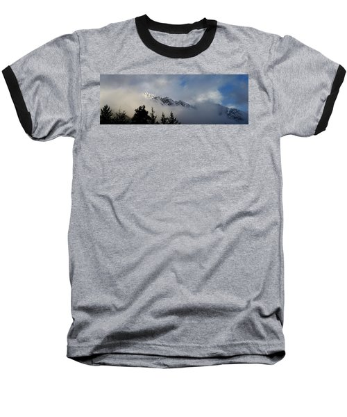 Rockies In The Clouds. Baseball T-Shirt