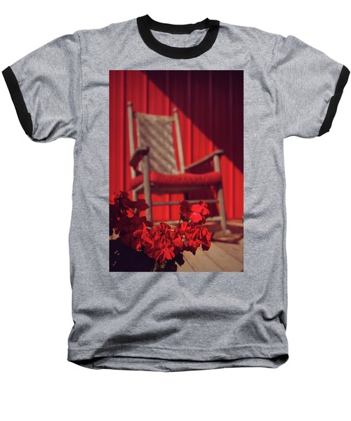 Baseball T-Shirt featuring the photograph Rockin' Red by Jessica Brawley