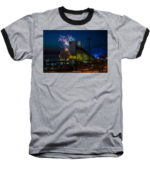 Rocking Fireworks Baseball T-Shirt