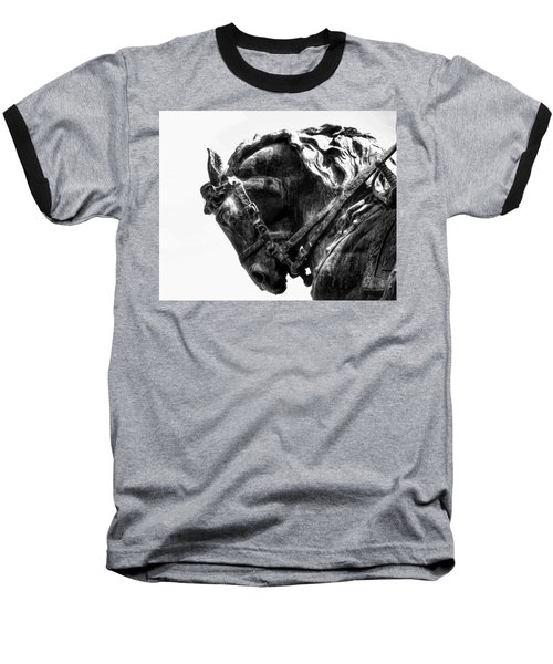 Baseball T-Shirt featuring the photograph Rocking Horse by AJ Schibig