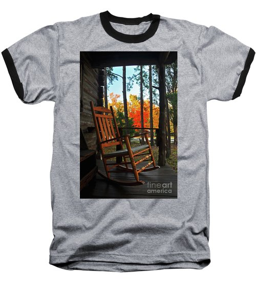 Rocking In Fall Baseball T-Shirt