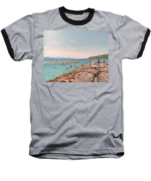 Rockpool At Currarong Baseball T-Shirt