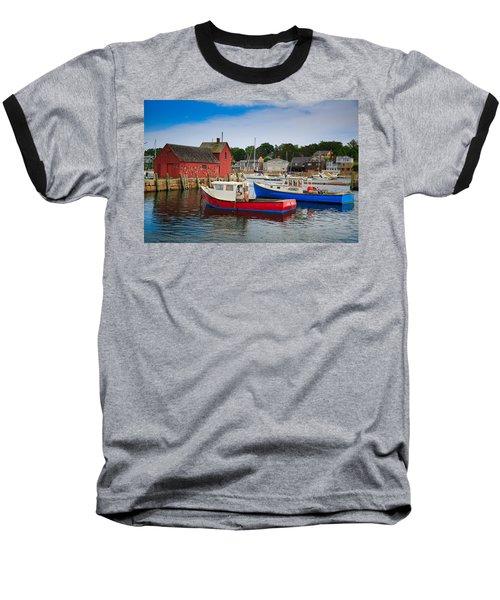 Rockport Harbor 2 Baseball T-Shirt